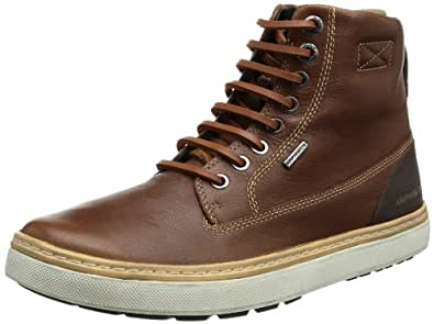 Geox Men's Mmattiasabx4 Equestrian Boot,Moka,43 EU/10 M US