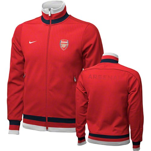 hot sales 35398 596fa NIKE Arsenal Red Authentic N98 Jacket