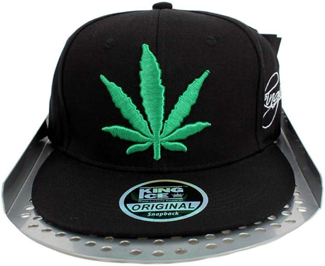 Gorra Snapback con diseño de hoja de marihuana Kush y parte ...