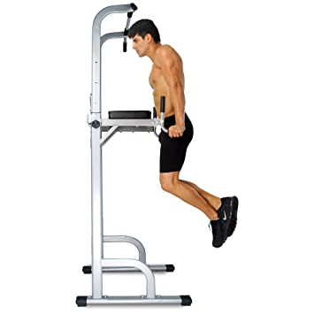 Ainfox Power Tower Strength Training Fitness Equipment Standing Pull Up Bar  Gym Office