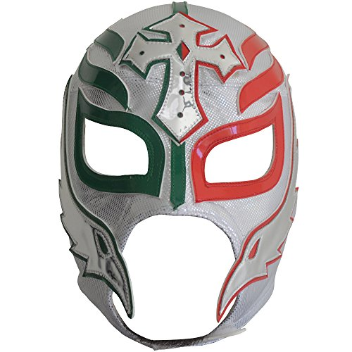 Rey Mysterio Costume Mens (Rey Mysterio Semi-Professional Lucha Libre Mask Adult Luchador Mask)