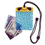 "DRY PAK DP-44 Yellow/Blue 4"" x 4"" Alligator Waterproof Wallet"
