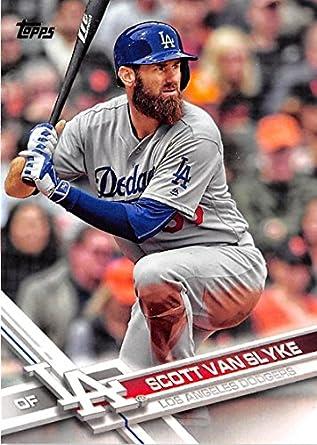 732053714e9 Amazon.com  Baseball MLB 2017 Topps  337 Scott Van Slyke Dodgers ...
