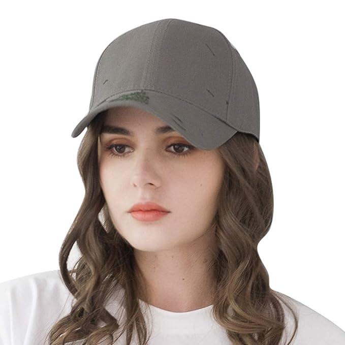 SamMoSon,2019 Gorras de béisbol,Gorra de Verano Bordada Sombreros de Malla para Hombres Mujeres Sombreros Casuales Hip Hop: Amazon.es: Ropa y accesorios