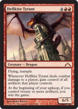 (Magic: the Gathering - Hellkite Tyrant (94) - Gatecrash)