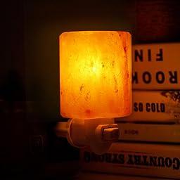 Salt Lamps Yes Or No : Amazon.com: Venhoo Mini Hand Carved Himalayan Salt Lamp Natural Crystal Salt Rock Nursery Wall ...