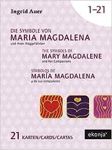 Símbolos de María Magdalena y de sus compañeros. 21 cartas ...