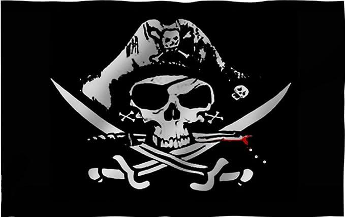 Acheter drapeau tete de mort online 11