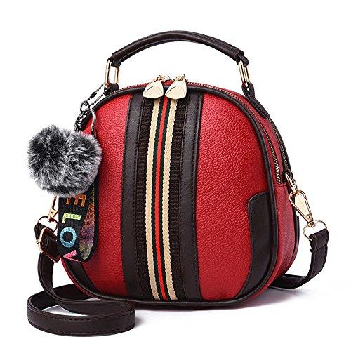 ZLL La Mode Sac étudiant De Main D'encens Sac Diagonale De Femmes Sauvage à à Women's Bandoulière Sac Femme Red bag Petit UnHrTqU6wY