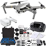 DJI Mavic Pro Platinum FLY MORE COMBO Collapsible Quadcopter + DJI Goggles Virtual Reality VR FPV + DJI Mavic and Goggles Cases Waterproof Carry Case POV Experience Bundle