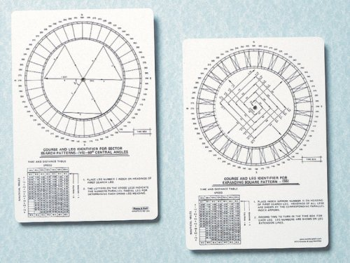 Weems /& Plath Marine Navigation Course and Leg Identifier for Search and Rescue 113