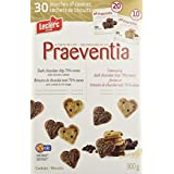 Leclerc Praeventia Dark Chocolate Chip Cookies 70-Percent Coca, 30 Count