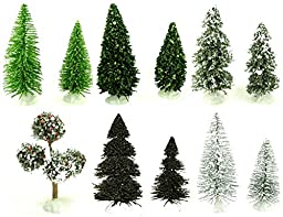 Evergreen Trees Assorted (11) 4-5\