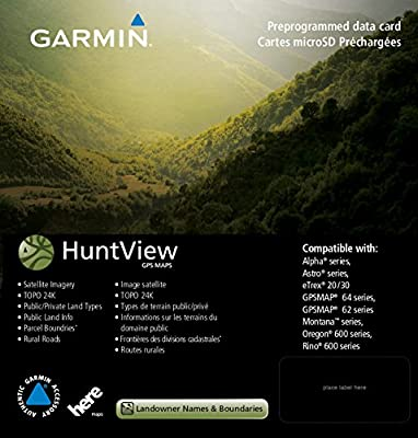 Garmin Huntview Map Card