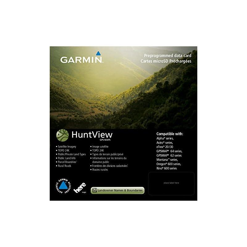 Garmin 010-12641-00 Huntview Map Card -