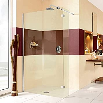 Protección contra salpicaduras ducha Walk In MK600 hasta 160 x 220 ...