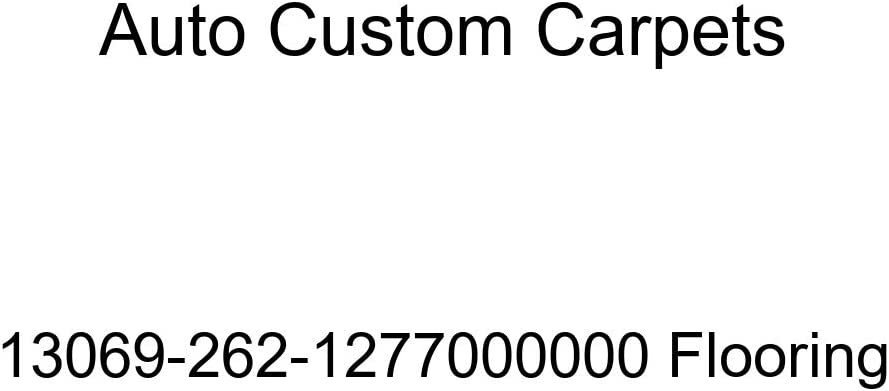 Auto Custom Carpets 13069-262-1277000000 Flooring