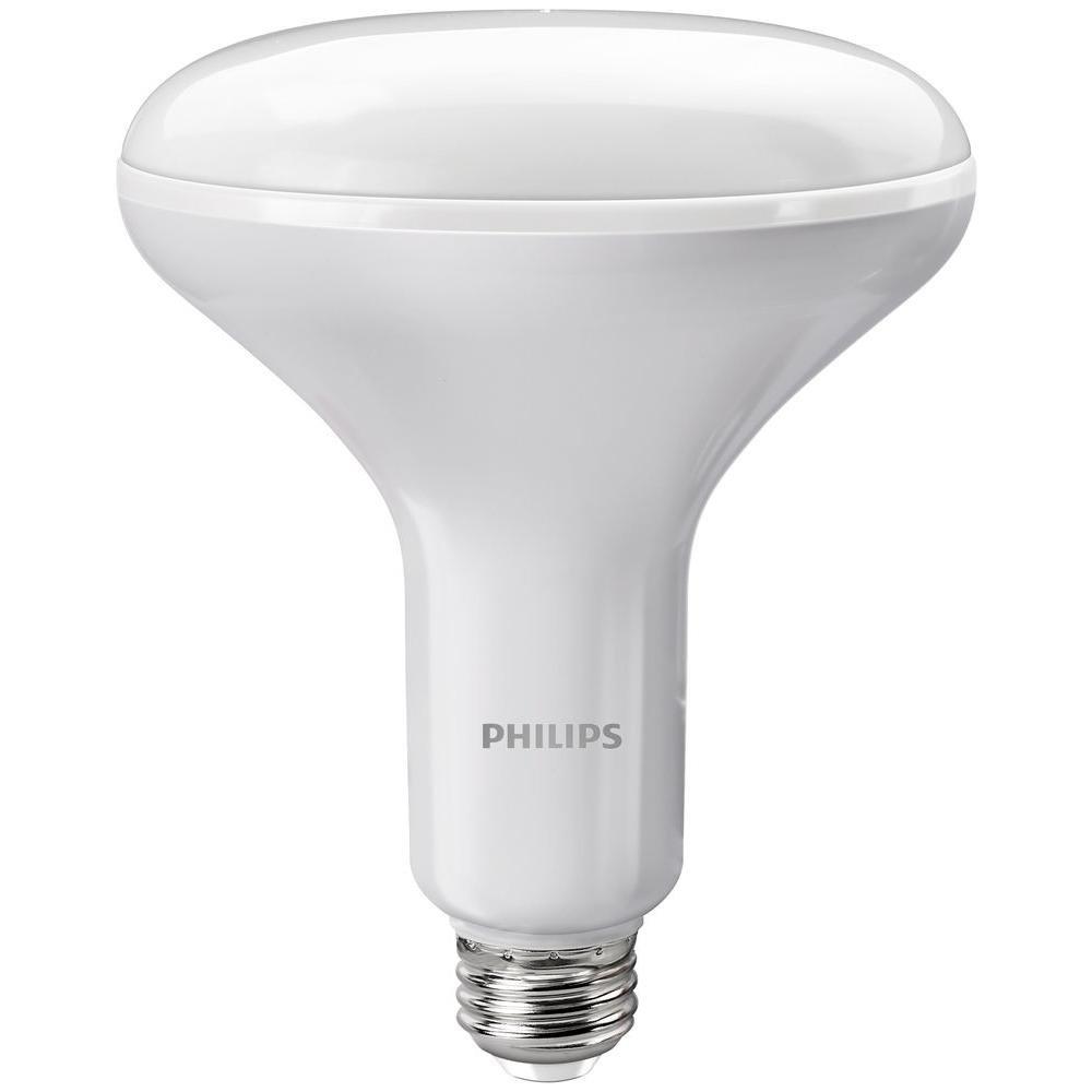 Philips 65w equivalent soft white br40 dimmable with warm glow philips 65w equivalent soft white br40 dimmable with warm glow light effect led light bulb amazon parisarafo Gallery