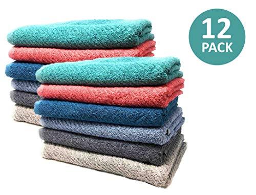 White Dove Classic Value Bath Towel Set - Value Pack - 25