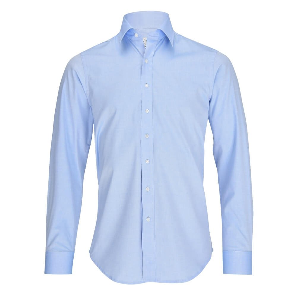 L. Bo Apparel, Smart: Camisas Formales para Hombre, Blanca, Regular Fit, 100% algodón