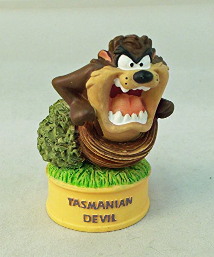 (Looney Tunes Lenox Tasmanian Devil Taz Porcelain Thimble Collection )