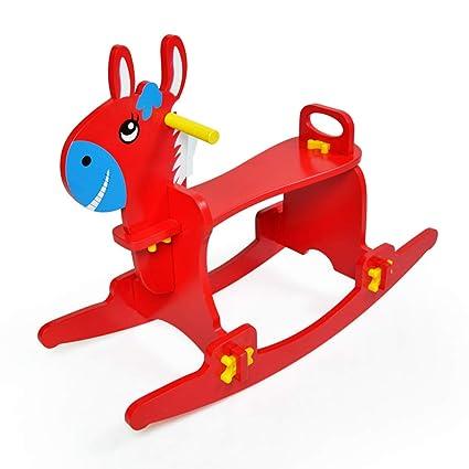Cavallo Di Legno Giocattolo.Giochi Cavalcabili Cavallo Di Legno Per Bambini Cavallo A