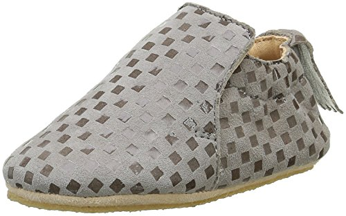 Easy Peasy Blublu - Zapatos de primeros pasos Bebé-Niñas Gris (5Chess Plume)
