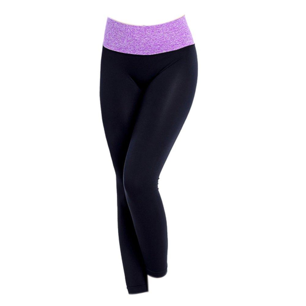 Diamondo Women Sports Fitness Leggings Pants Jumpsuit Athletic Clothes (M:, B)