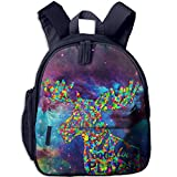 Music Moose1 Print Lightweight Toddler Backpack Shoulder Bag School Backpack For Kids
