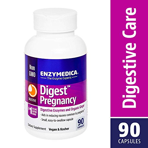 - Enzymedica - Digest Pregnancy, Digestive Enzymes & Organic Ginger, 90 Capsules (FFP)