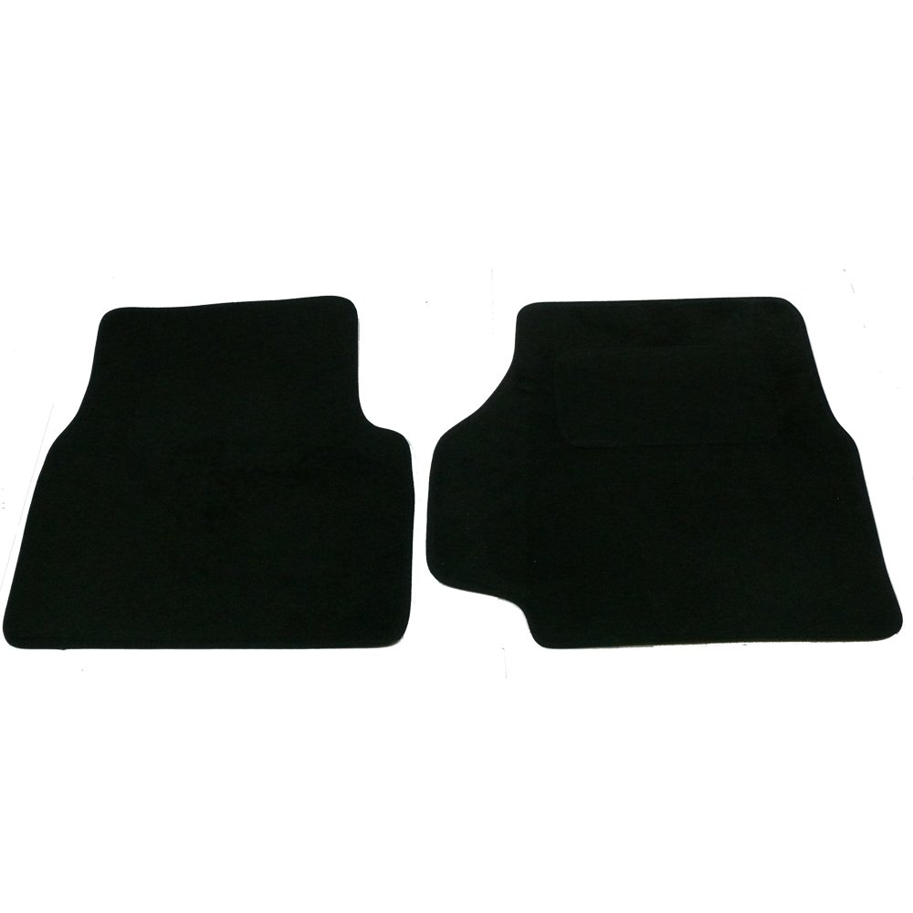 Nero Colore Set di tappetini Landrover Defender 90//110 con poggiatacco Sakura