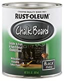 Rust-Oleum Not Available 206540 Chalkboard Brush-On, Black, 30-Ounce, 30 oz