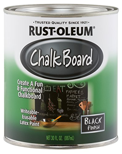 Rust-Oleum Available 206540 Chalkboard Brush-On