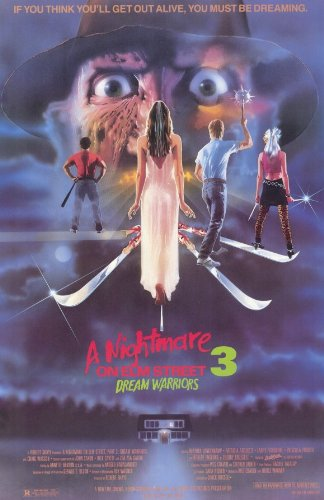 A Nightmare on Elm Street 3: Dream Warriors - Movie Poster - 11 x 17