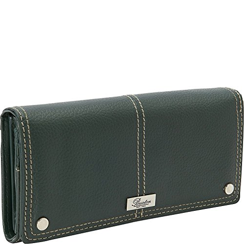 Green Wallet Expandable (Westcott Expandable Clutch Wallet, Pine Needle, One Size)