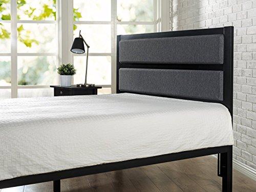 Bedroom Zinus Viola Modern Studio Upholstered Metal Headboard, Full / Queen modern headboards