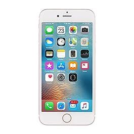 Apple iPhone 6S, 16GB, Rose Gold – Fully Unlocked (Renewed)