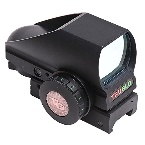 TRUGLO Tru-Brite Open Red-Dot Dual-Color Multi Reticle Black