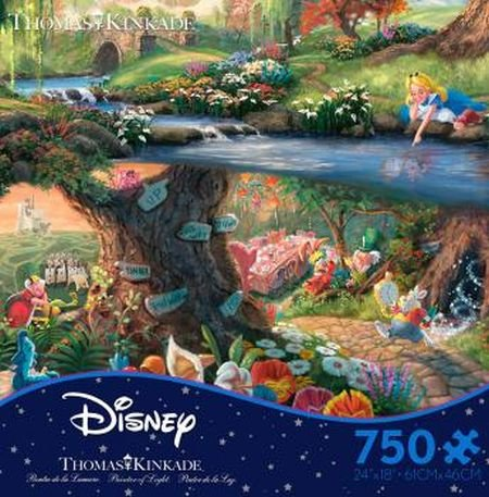 Disney Puzzle -- Alice in Wonderland -- Ceaco