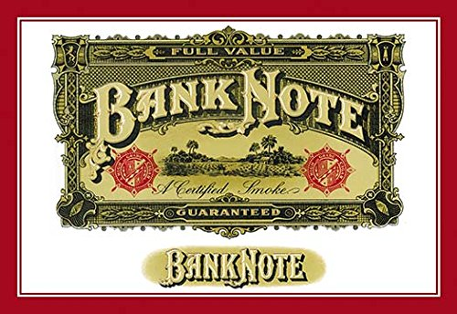 - Buyenlarge Bank Note Cigars - A Certified Smoke - Gallery Wrapped 28