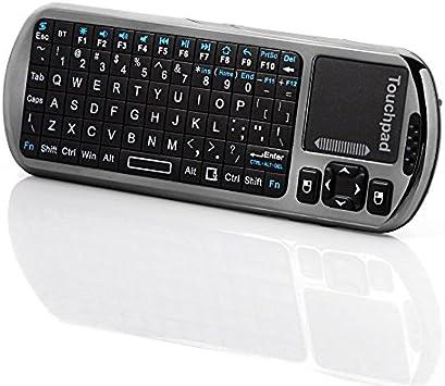 IPazzPort Mini Bluetooth Smart YiRone™ / Android TV Box control remoto por infrarrojos y de voz 90 Degree teclado inalámbrico ajustable: Amazon.es: Electrónica