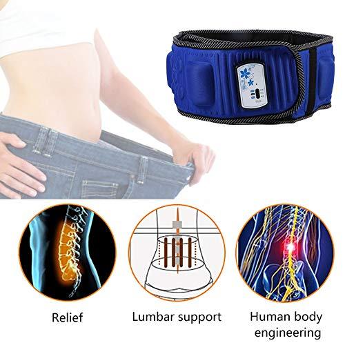 HarveyRudol85 Vibro Abnehmen Form Toning Vibration Gurt Bauch Gewichtsverlust Massage