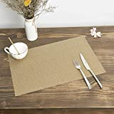 Pauwer Placemats Set of 8 for Dining Table Washable