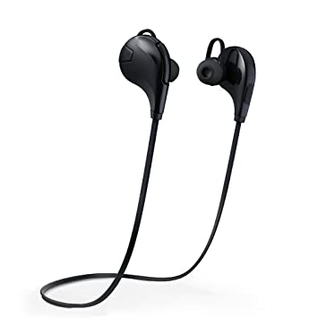 Pictek Auriculares Bluetooth 4.0, Auriculares Deportivos Bluetooth, Inalambrico con Micrófono, Cancelación de Ruido