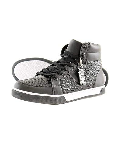 7be97cd7451b01 Reservoir Shoes - Basket Montante Homme Ruben Noir - Noir - 45 ...
