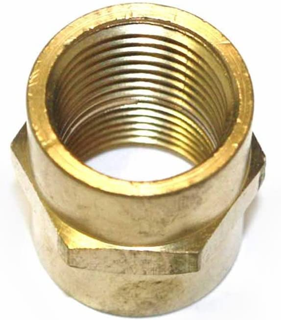 Interstate Pneumatics FPC660 Brass Female Coupling Adapter 3//8 Inch x 3//8 Inch NPT Female