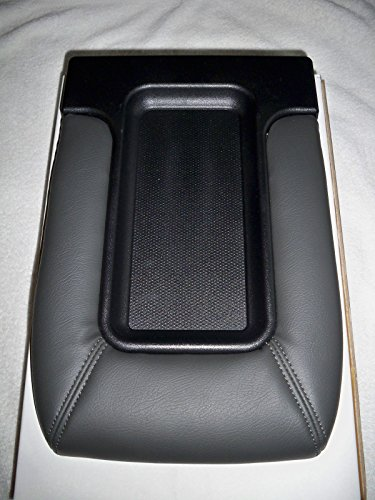 1999-2007 REDESIGNED CENTER CONSOLE TOP ARMREST LID REPAIR KIT DARK GREY FITS SILVERADO SIERRA TAHOE AVALANCHE (03 Chevy Console)