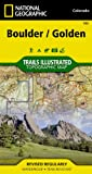 Boulder/Golden, Colorado, USA Outdoor Recreation Map, National Geographic Maps - Trails Illustrated, 1566953359