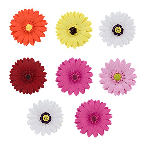 Gerbera Daisy Mixed Colors, 8 Count by Chef Alan Tetreault -