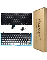 """Padarsey Replacement US Layout Keyboard with Backlit Backlight 80 PCE Screws Compatible with MacBook Pro Retina 13"""" A1502 (Late 2013- Early 2015)"""